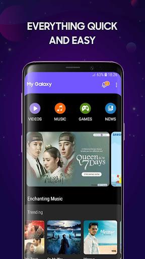 My Galaxy screenshot 1