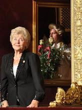 Photo: Karola AGAI ist am 22.2.2010 gestorben. Unser Photo zeigt die Sopranistin 2009 in der Budapester Staatsoper