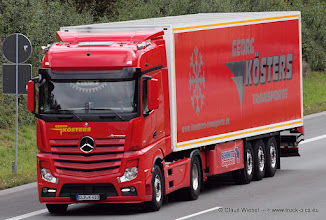 """Photo: NEW ACTROS """"Georg Köster"""""""