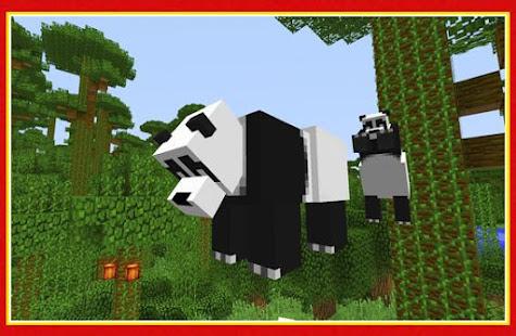 Panda Bear Creatures Mod For Minecraft Apps Bei Google Play