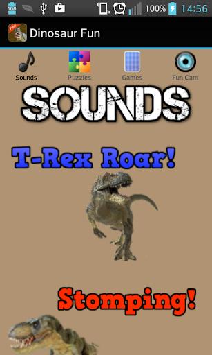 Dinosaur Sounds Games