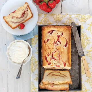 Strawberry Cream Cheese Pound Cake.