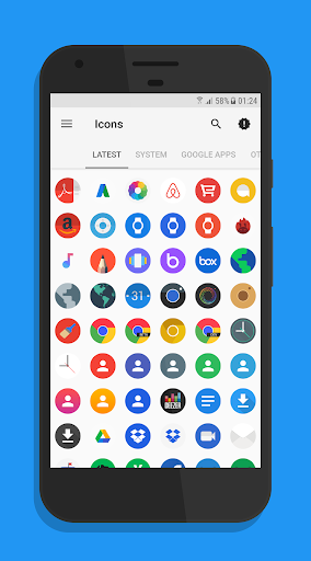 Flix - Icon Pack app for Android screenshot