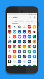 Flix Pixel - Icon Pack APK screenshot thumbnail 2