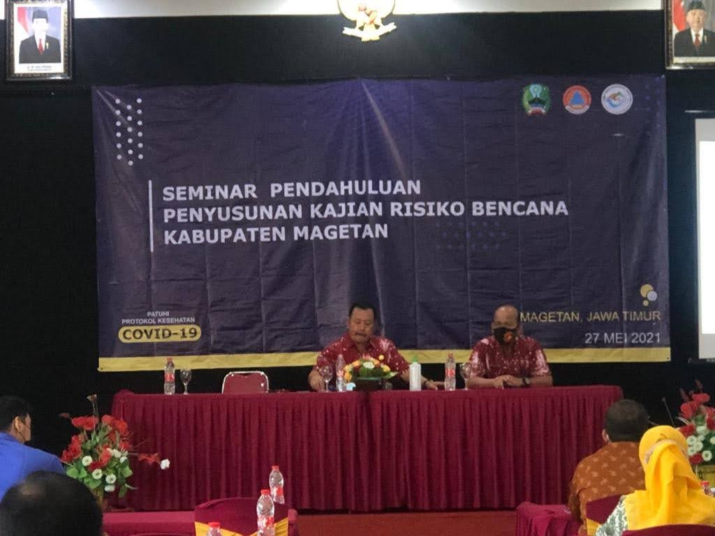 Seminar Pendahuluan Penyusunan Kajian Resiko Bencana Kabupaten Magetan