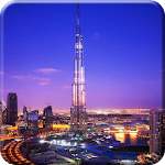 Dubai Night Live Wallpaper PRO Icon
