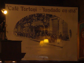 Photo: Cafe Tortoni - famous old cafe in BA