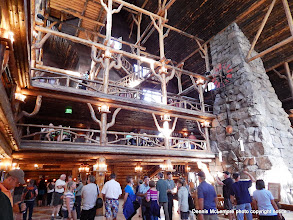 Photo: Lobby at Old Faithful Inn