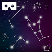 VR Star Night Sky View Walk