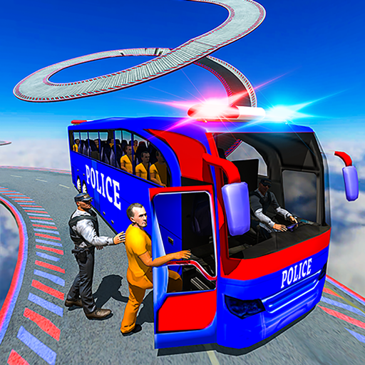 Impossible Police Bus Driving