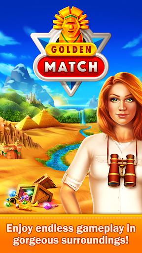 Golden Match 3 Puzzle Game - Real treasure hunter 1.2.5 Mod screenshots 5