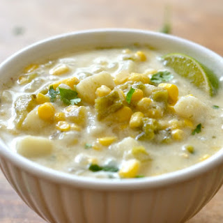Green Chile and Corn Chowder