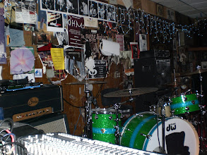 Photo: Stage setup for the Jazz Ministry. The Baked Potato - 1/17/08 (first show)
