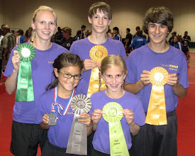 Photo: Nationals 2012 Day 2 Three Minute Speed: Anna 5th, Abby 10th, Allie 7th Pairs Freestyle:  Ethan & Dane 4th