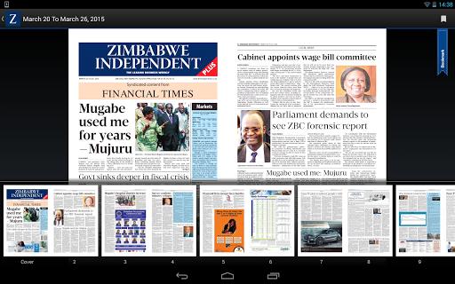 The Zimbabwe Independent  screenshots 9