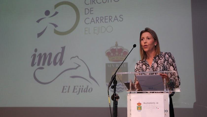 María José Martín ha presentado el calendarios.