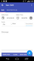 Screenshot of Auto SMS Sender