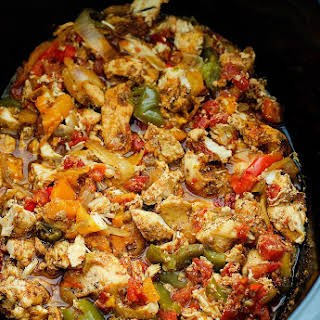 Chicken Red Yellow Green Peppers Recipes.