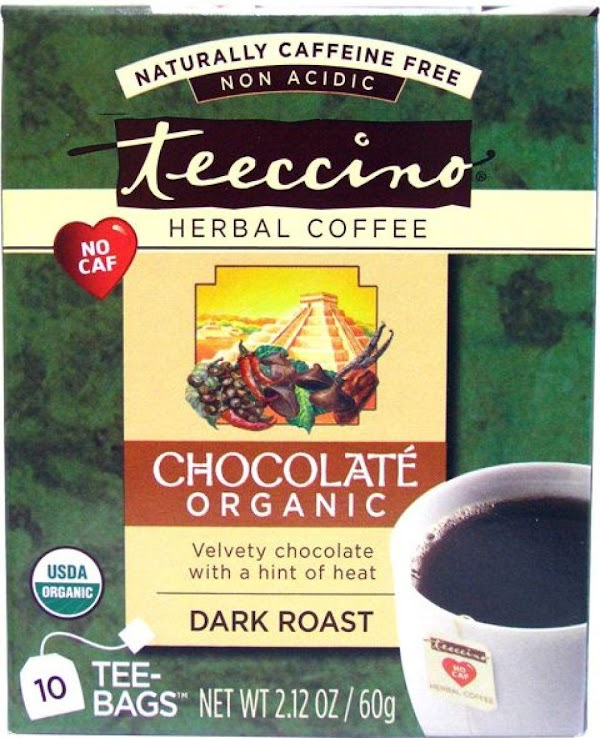 Tried a new  flavor of Teeccino today and it was delicious. I look...