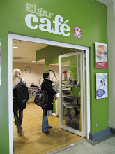 Photo: Elgar cafe in Student Union, St. John's Campus, University of Worcester