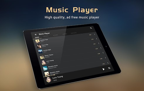 Music Player - Equalizer & Bass Booster- screenshot thumbnail