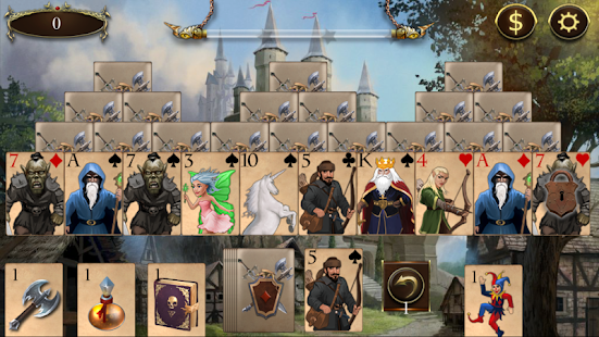 Legends of Solitaire Curse of the Dragons TriPeaks- screenshot thumbnail