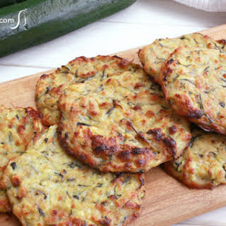 Baked Zucchini Cakes.