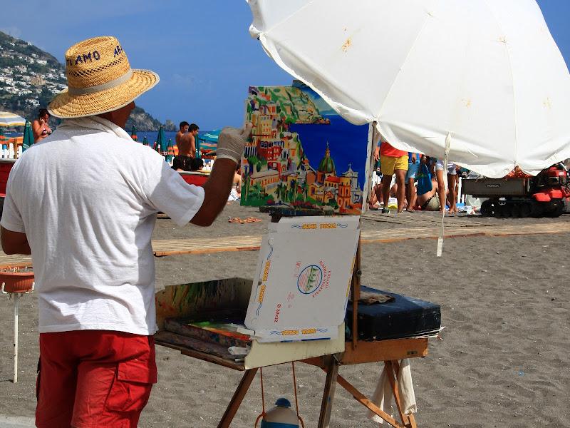 Pittore in spiaggia di PaolaTizi