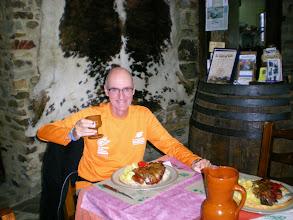 Photo: Etapa 21. Dinar a la Taberna de Gaia. Foncebadón