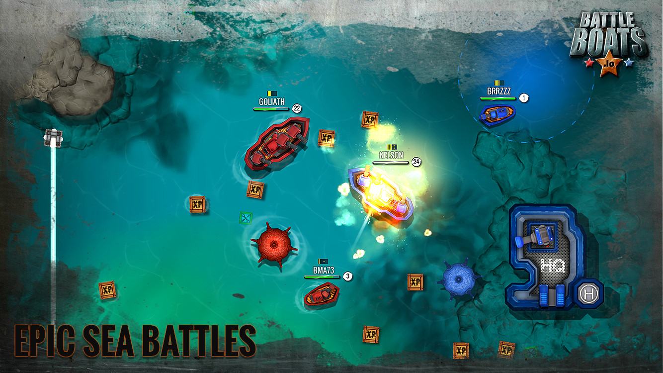 Battleboats.io- screenshot