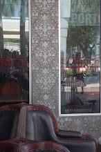 Photo: Specialized Designs / Wieber Art Segafredo/Miami Brickell, FL detail/facade/