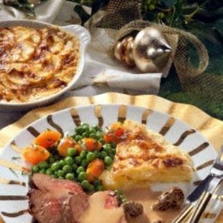Chateaubriand mit Kartoffelgratin