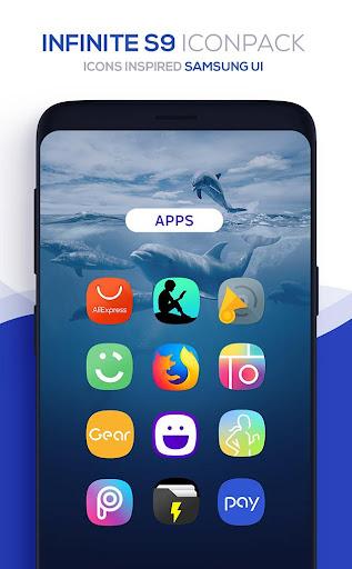 Infinite S9 Icon Pack  screenshots 5