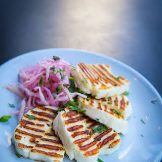 Grilled Halloumi Recipes.