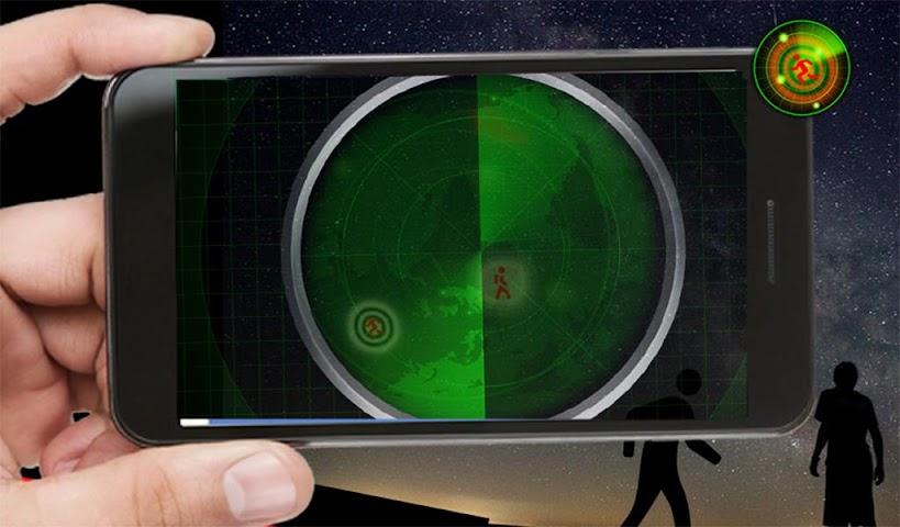 android Radar Scanner 3d Sim Prank Screenshot 13