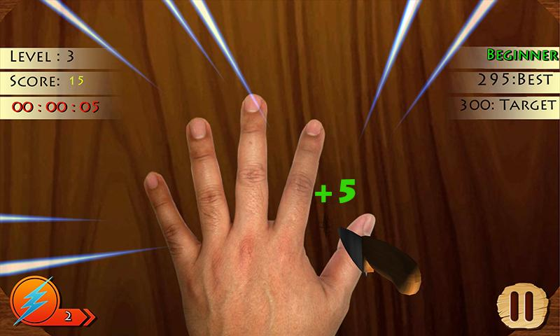 Finger Roulette 2 (Knife Game)- screenshot