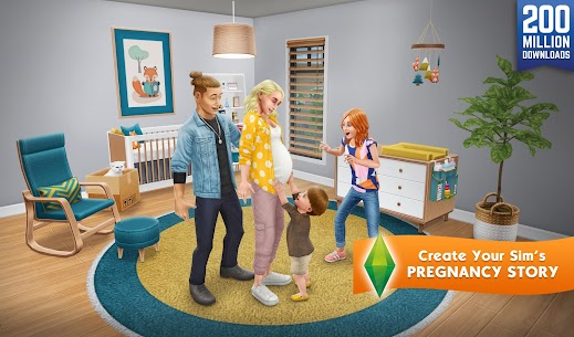 The Sims FreePlay Mod Apk 5.56.1 [Unlimited Money + VIP] 2