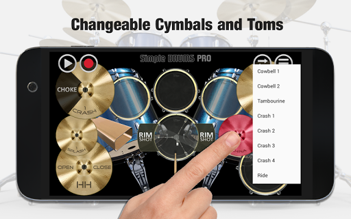 Simple Drums Pro - The Complete Drum App 1.1.7 screenshots 4