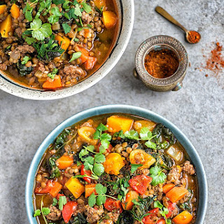 Lamb, Lentil And Squash Stew