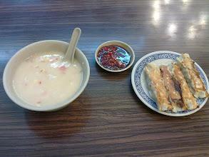Photo: kukuřicová polévka a knedlíčky