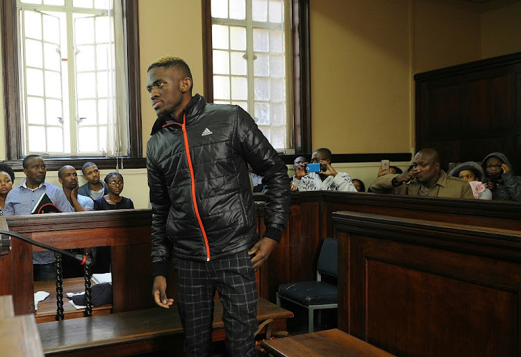 Sandile Mantsoe was convicted of the assault and murder of his girlfriend'Karabo Mokoena.