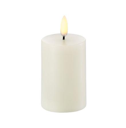 UYUNI Pelarljus LED - Ivory- 5x10,4cm