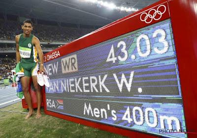 Wayne Van Niekerk pakt goud op de 400 meter mét een nieuw wereldrecord