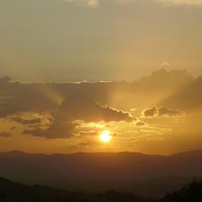 Zalazak2 by Slobodan Miljković - Landscapes Sunsets & Sunrises