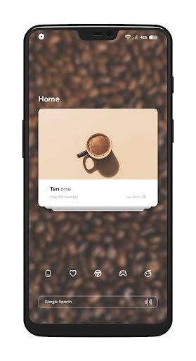 Coffee for KLWP screenshot 1
