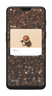 Coffee for KLWP Screenshot