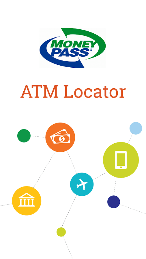 MoneyPass® Network ATM Locator- screenshot