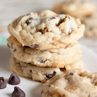 Triple Chocolate Chip Cookies With Walnuts