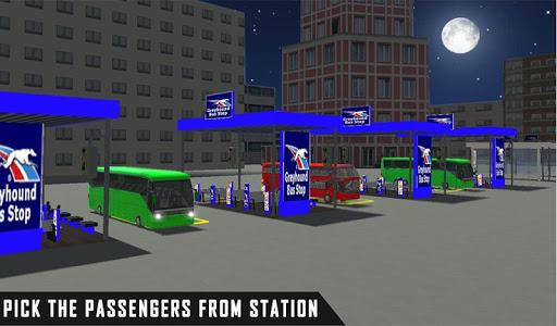 mobile bus driving sim 2018 - tourist coach drive 1.1 screenshots 11