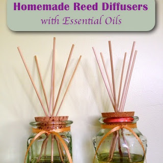 Homemade Reed Diffusers (Air Fresheners)